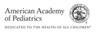 Logo for the American Academy of Pediatrics.